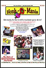 HonkoMania Game Show Kevin Hall