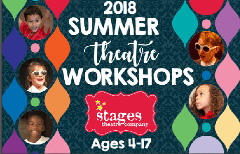 Stages Theatre Company 2018 Summer Workshops