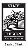 Historic Theater Trust State Theatre Seating Chart