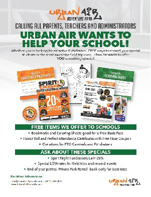 Urban Air Fieldtrip & Fundraising