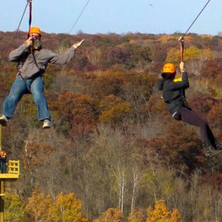 TROLLHAUGEN ADVENTURE COURSE | A Zip Line Experience will Bring your Team Together!