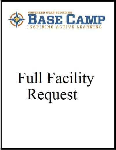 Base Camp Full Facility Rental Request