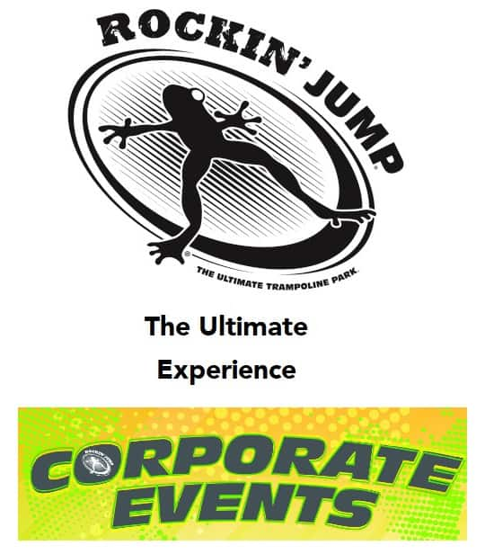 Rockin' Jump Corporate Events Flyer