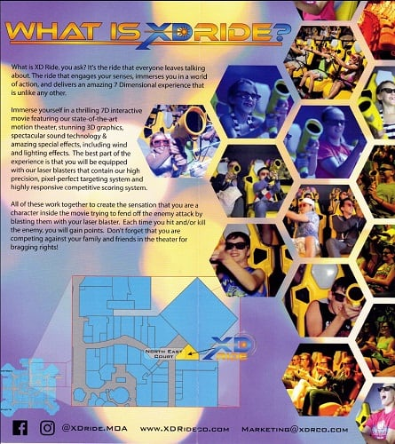 XD RIDE at the MALL OF AMERICA® Brochure