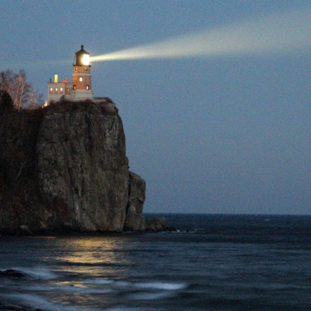 SPLIT ROCK LIGHTHOUSE - A Bright BEACON OF HOPE In The Fight Against COVID-19