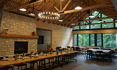 TANADOONA | CAMP FIRE MINNESOTA | Enjoy a convenient, nature-immersed meeting and event venue!