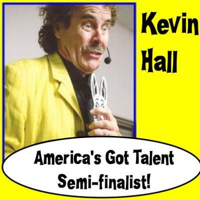 KEVIN HALL MAGIC MANIAC | Kevin Hall Can Magically Lift Your Spirits!