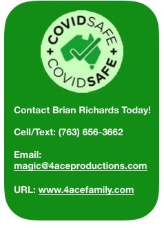 4 ACE PRODUCTIONS | Summer FUN with safety in mind...