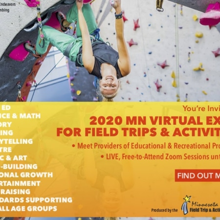THE 2020 MN Field Trip & Activity VIRTUAL EXPO!  Watch Providers Live via Zoom. Discover What They're Offering.