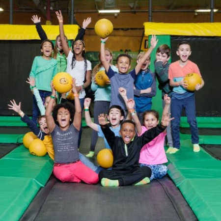 ROCKIN' JUMP | For Employee & Family Activities...  Rockin' Jump Offers Great Phys Ed Activities!