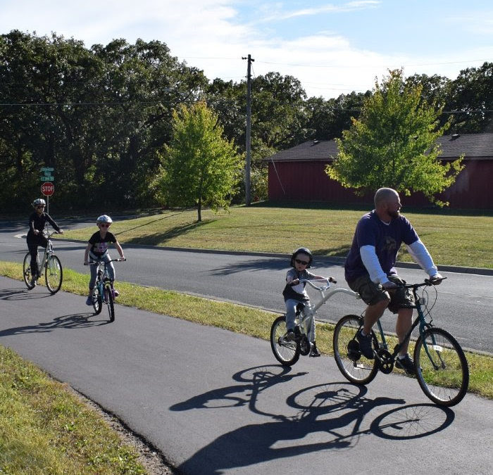 Hastings 10-mile trail loop allows riders scenery along two rivers