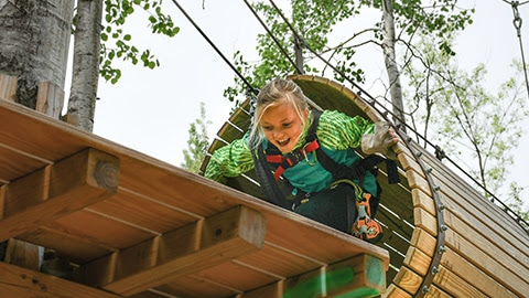 NORTH SHORE ADVENTURE PARK | Kids and Adults Benefit from Outdoor Play
