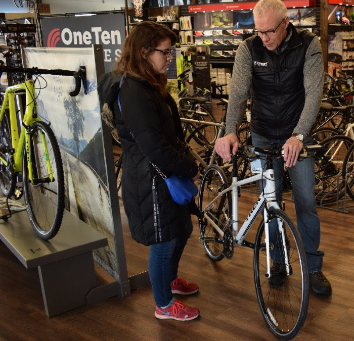 Winter in a bike shop is a great time to visit and learn!