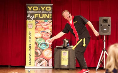 DAZZLING DAVE NATIONAL YO-YO MASTER | Your event is always fun with Dazzling Dave!