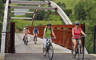 Many bicycle adventures await your visit to the Mesabi Trail Towns