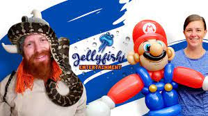 JELLYFISH ENTERTAINMENT   Families Love Our Parties & Events!