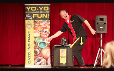 DAZZLING DAVE NATIONAL YO-YO MASTER | Dazzling Dave's Show is Perfect for ALL Generations!
